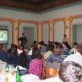 Páteční konferenční den. Pavel Červinka hovoří o sakrálních stavbách.